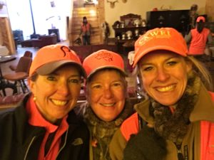 "Jackie Harker and friends enjoy an ""all girls"" pheasant hunt at Pheasant Phun in Hitchcock, South Dakota."