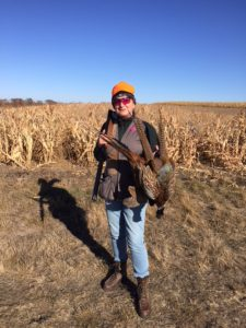 Karen and Ringo Altman have a great day hunting in Pierre, South Dakota.