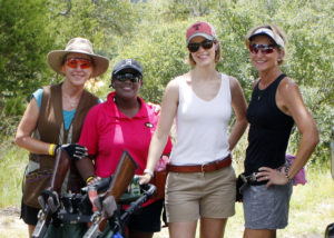 Georgia Monk, Alicia Thomas, Jessica Forsdick, & Karen Ward at Joshua Creek Ranch